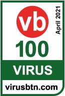 2020 十月 2 月荣获 VIRUS BULLETIN VB100 奖项