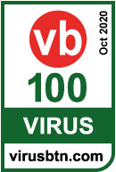 PRIX VIRUS BULLETIN'S VB100 OCTOBRE 2020