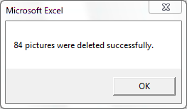 Delete All Pictures In All Worksheets