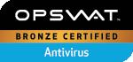 OPSWAT - Bronze Certified - Antivirus