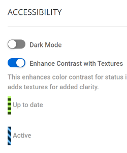 Accessibility Options make Deploy easy on the eyes