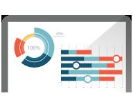应用程序和 Web 使用数据