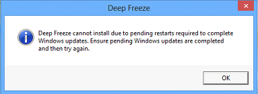 Welcome to the 'Smarter' Windows Updates with Deep Freeze