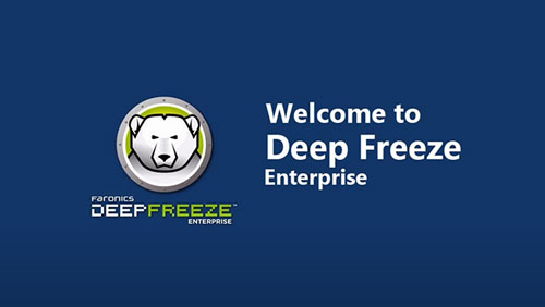Deep Freeze convierte tus computadoras en virtualmente indestructibles.