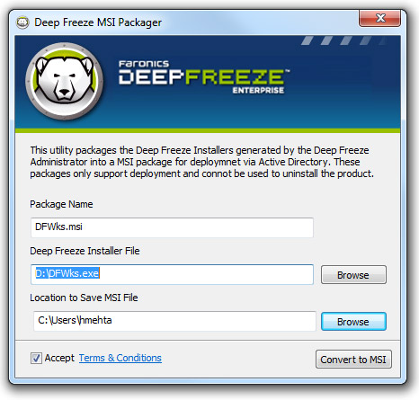 telecharger deep freeze gratuit