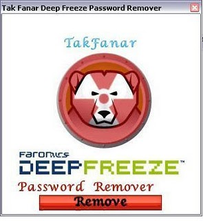 Fake Deep Freeze Password Remover