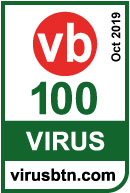 VIRUS BULLETIN'S VB100 AWARD October 2019