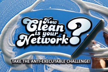 How Clean Is Your Network? Take The Anti-Executable Challenge And Win