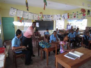 Deep Freeze Deepens Digital Learning in Belizean Village