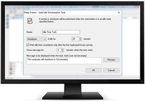 Idle Task Enhancement