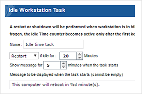 Idle Time Task