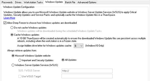 Installation aller Windows Updates