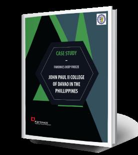 Faronics Deep Freeze and John Paul II College of Davao in the Philippines (JPIICD)