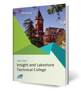 Faronics Insight and Lakeshore Technical College