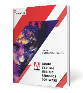 Faronics Deep Freeze and Adobe Systems