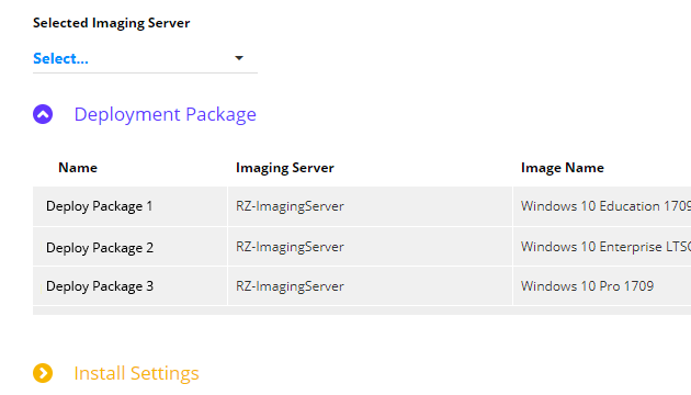 Remotely Deploy Images to Windows Endpoints
