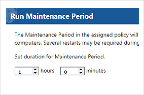 On-Demand Maintenance