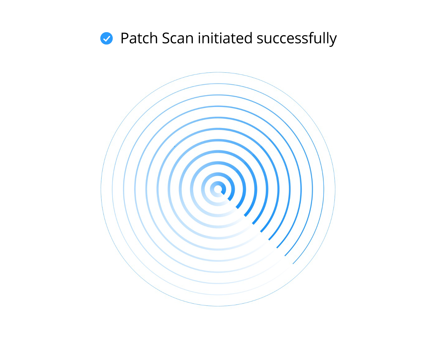 Patch Scan Heartbeat