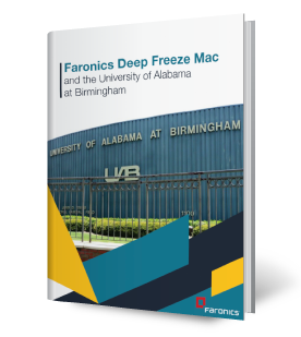 Faronics Deep Freeze Mac and the University of Alabama at Birmingham