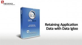 Retaining Application Data with Data Igloo (MS Essentials example)