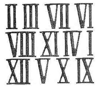 Roman Numerals: Can't Go Both Ways