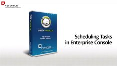 Scheduling Tasks in Enterprise Console
