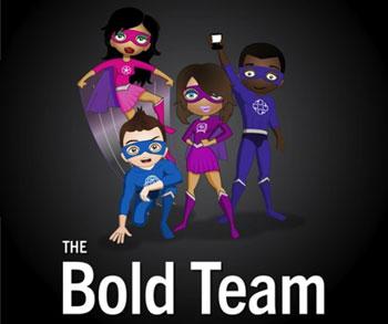 RIM's Superheroes: The Bold Team?