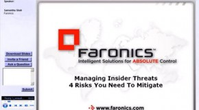 Webinar: Managing Insider Threats – 4 Risks You Need To Mitigate