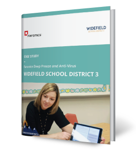 Faronics Deep Freeze & Anti-Virus and Widefield School District 3