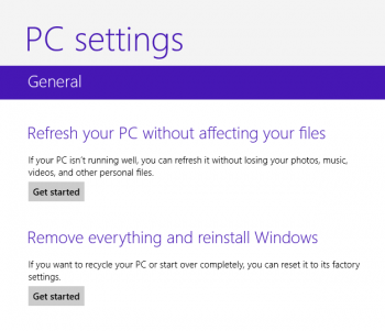 Refresh and Reset in Windows 8 Vs Reboot to Restore in Deep Freeze