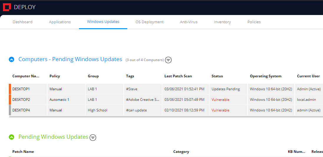 Start managing and gain insight into the status of your workstations in minutes.