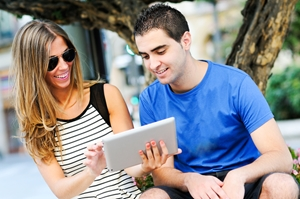 Colleges are making it easier for students to learn on-the-go.
