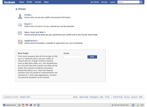 Facebook under fire for privacy issues