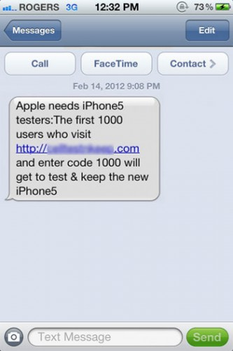 Apple Doesn't Want You To Test An iPhone5