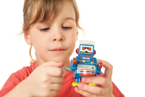 Robot helps students learn from a distance