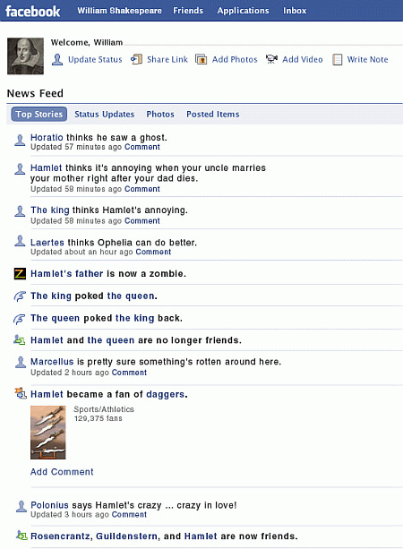 shakespeare-on-facebook