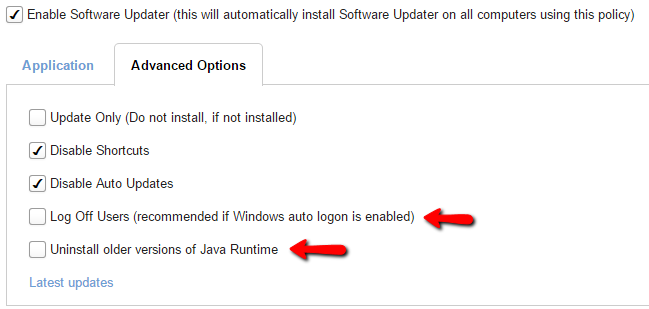 software_updater_remove_older_version_of_java_log_off_users