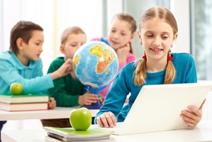 Teachers and schools embrace digital learning.