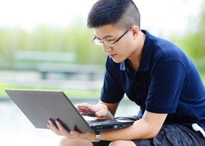 Virtual proctors and computer monitoring software can be used to prevent students from cheating during online tests.